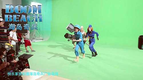 何炅谢娜再度上演百变大咖秀代言视频花絮曝光